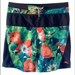 TOMMY BAHAMA RELAX SWIM TRUNKS SZ L